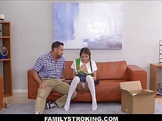 8:40 - Girl Scout Asian Step Daughter Fucked -