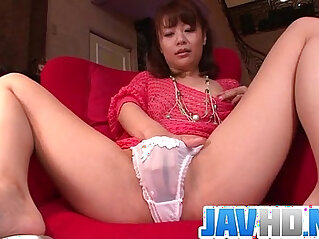 8:59 - Maika cums hard in this japanese masturbate video -