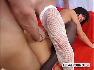 38:03 - One big cock and fucking three lesbo girls TS -