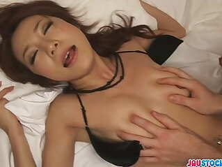 8:54 - Charming Japanese milf fucked from behind -