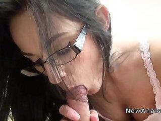 7:03 - Small tittied amateur girlfriend banged -
