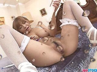 8:48 - Big Titted Sumire Matsu Squirts From Masturbating -