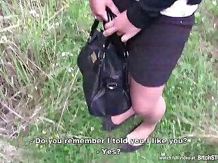 13:59 - Bitch STOP Czech girl with cute face -