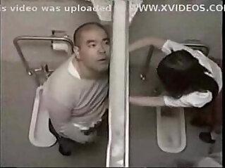 10:09 - Teacher fuck student in toilet -