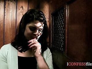 18:28 - ConfessionFiles British Babe Fucks in Confession Booth -
