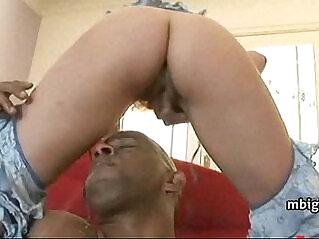 5:42 - Tight booty latina anal stuffed with big black cock -