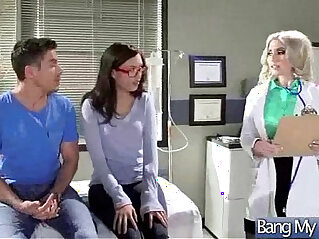 5:38 - Hard Sex Tape With mind Doctor seduce and Bang Horny sluty Patient movie -
