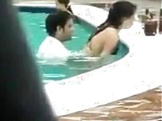 3:23 - Public Sex in A pool -
