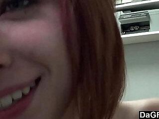 7:04 - Prettiest Redhead Teen Cums On Her Fingers -