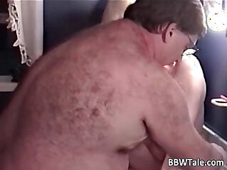 31:55 - Blonde mature slut is fucked by fat -