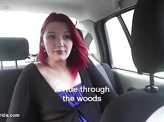 11:06 - Czech 19yo redhead does wild blowjob for taxidriver -