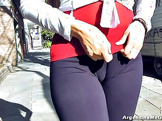 2:04 - Amazing Ass!, Cameltoe! Natural Tits! Flashing in Public! -