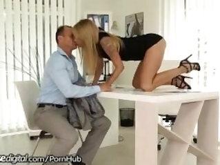 7:53 - Czech Boss gets Creampies from Employee -