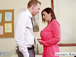 8:16 - Brunette milf sara jay fucking in the office -