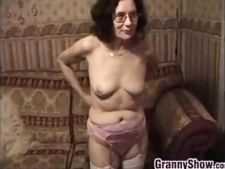 12:14 - Grandmother Stripping And Masturbating -