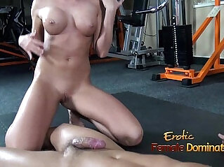 17:13 - Big Titted Mistress Smothers And Jerks Off Slave -