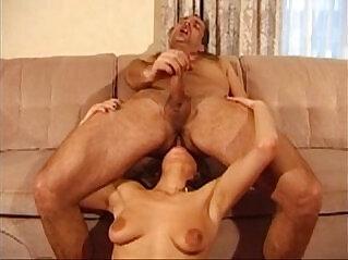 24:08 - Brunette Licks A Guys Feet And Blows Him -