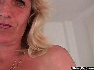 6:20 - Granny gets hard nipples pinched -