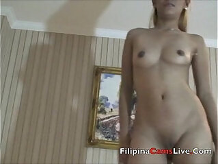 4:44 - Blonde Asian Model from masterbates -