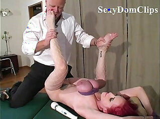 11:23 - Hot lady Mz Berlin is tied up and fucked hard with breasts compressed by ropes -