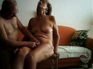 3:12 - Pervert granny fingered hard. Amateur older -