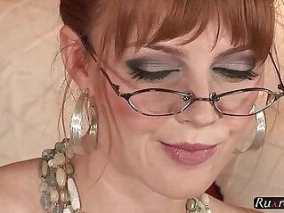 13:47 - Marie McCray Solo solo, toy, masturbate, pornstar, hd,   glasses -