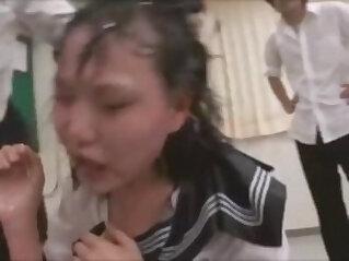 1:17 - asian slap humiliated -