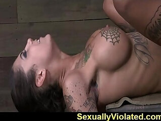 8:03 - Bonnie drooling gagging and cumming -