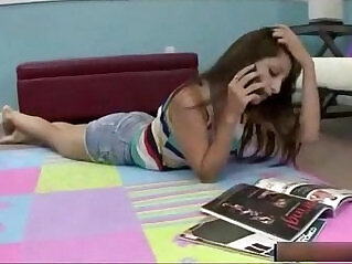 14:00 - Teen brother and sister having taboo sex -