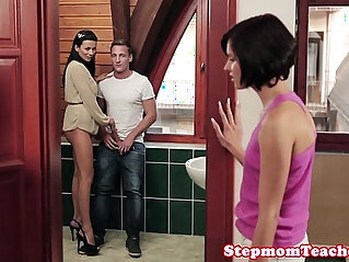 10:35 - Glam euromilf closeup with amateur teen hottie and bf -