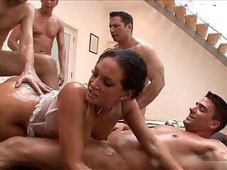 44:14 - 18 year old girl double penetration -