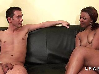 37:16 - Bonne black francaise grave sodomisee et prise en double pour son casting -