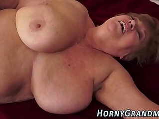 6:50 - Tubby granny jizz mouthed -