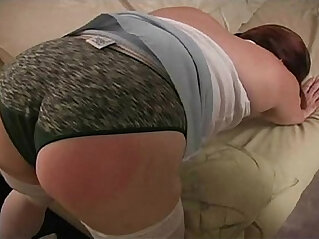 13:39 - Spanking the Bad BBW Amateur -