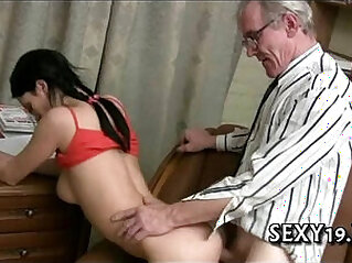 5:39 - Old tutor gets dong loving action -