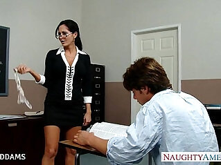 8:53 - Teacher in glasses Ava Addams gets tits and fucked -