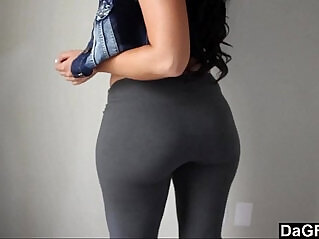 6:29 - Fat Ass Wrapped In Tight Yoga Pants -