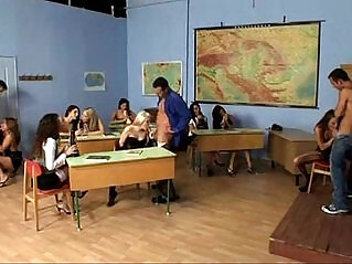 19:40 - Students sex party at school -
