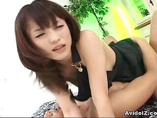 8:57 - Japanese babe Arisa Suzuki banged -