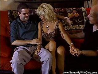 16:28 - Trashy Blonde Housewife Deep hard Anal Sex -