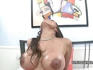 6:17 - Curvy cutie Alexis gets her Latina twat banged -