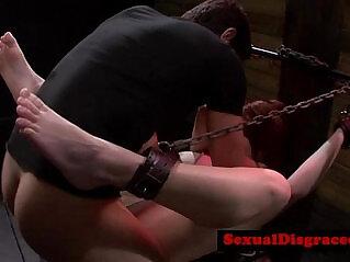 7:15 - Busty bdsm bondage sub pussy destroyedreed 25 -