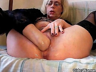 12:23 - Perverted grannies pushing their fist inside -