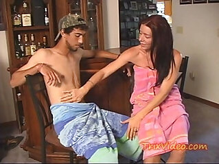 11:08 - MILF MOM, SON and DAUGHTER have a WAY -