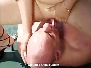 5:05 - Nasty Old Man Gets her Teen Juice -