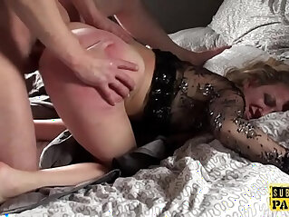 10:21 - Submissive british MILF assfucked and spanked -