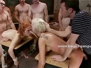 5:04 - Nasty mature lesbians abused by college boys -