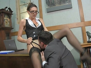 2:02 - Boss lady pussy service with sadie holmes lance hart femdom -