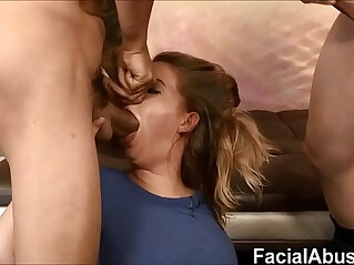 11:46 - Rough pussy fucking for Dumb 18 Year Old Blonde -